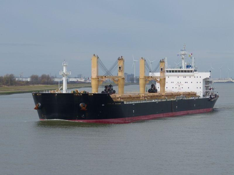190m Supramax Geared Cargo Ship 56840 DWT - 2011 For Sale