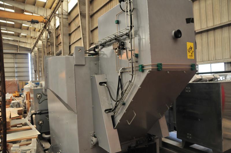 Atlas 600 Series Solid Waste Sluice Liquid PLC Incenerator For Sale