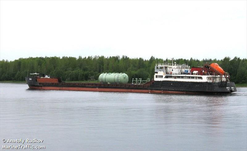 108m Self Propelled Flat Top Barge 1983 - Slavutich Type For Sale