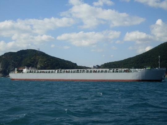99m Split Hopper Barge 2001 - Japan Built - DWT 6500 For Sale
