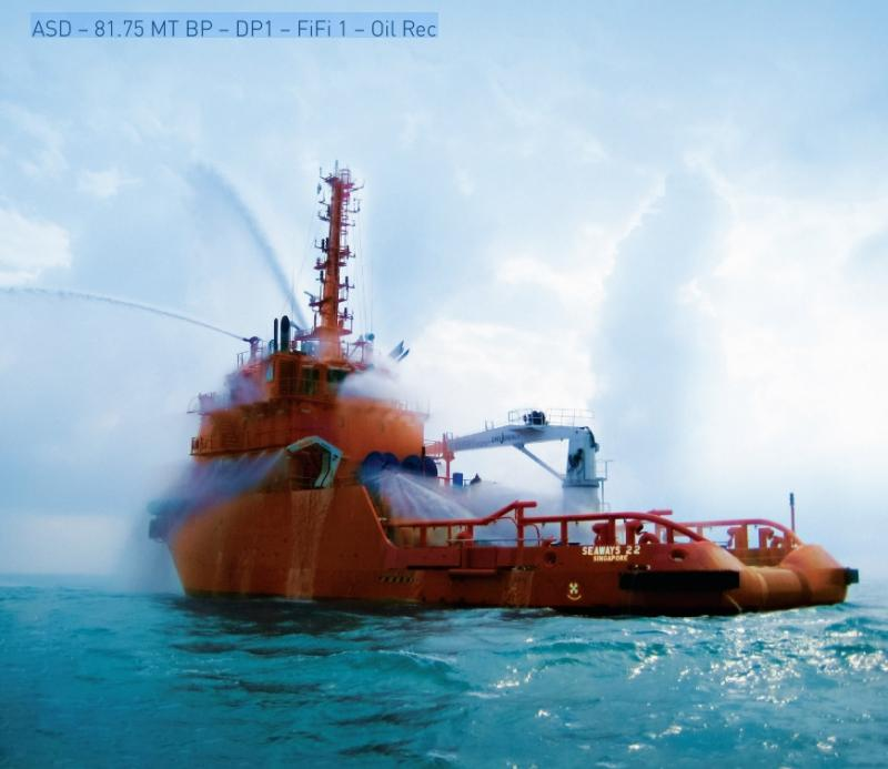 45m Offshore Support Vessel 2013 - Twin Z Drive