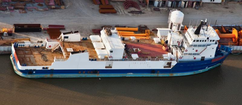238' Fraq Well Stimulation Vessel 27 POB Accommodations - 1982 For Sale