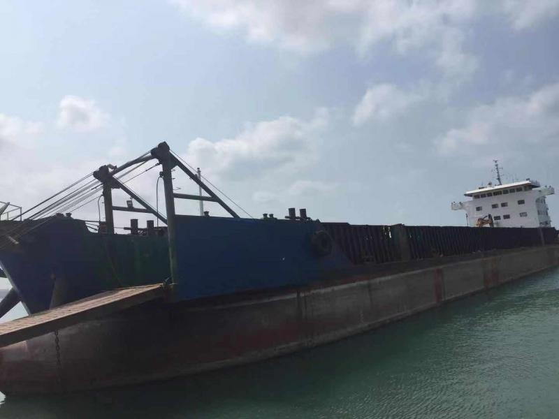 104m Self Propelled Barge - Rock Sand Coal 10,000 DWT