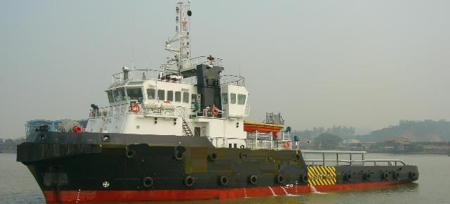 48m AHT Salvage Tug Boat 1999 - Accommodates 32 - DWT 838 For Sale