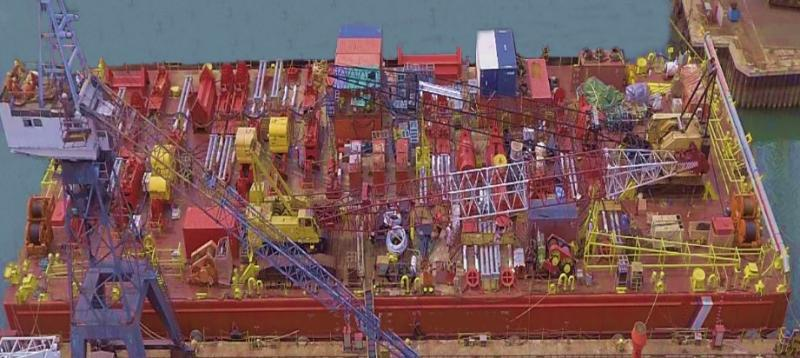 300' Deck Barge Salvage Dive Support Vessel 2012 For Sale