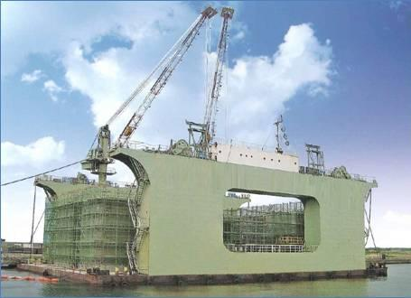 56m Caisson Floating Dock 1984 - 7000t TLC For Sale