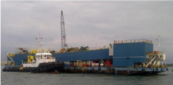 75m Pipe Laying Barge 2011 - Accommodates 50 For Sale