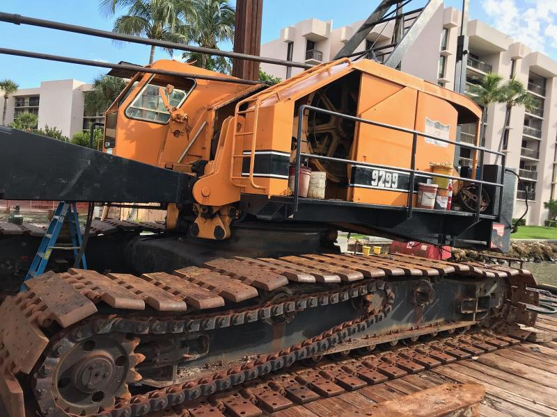 American Crawler Crane 165 ton Hammerhead Tip For Sale