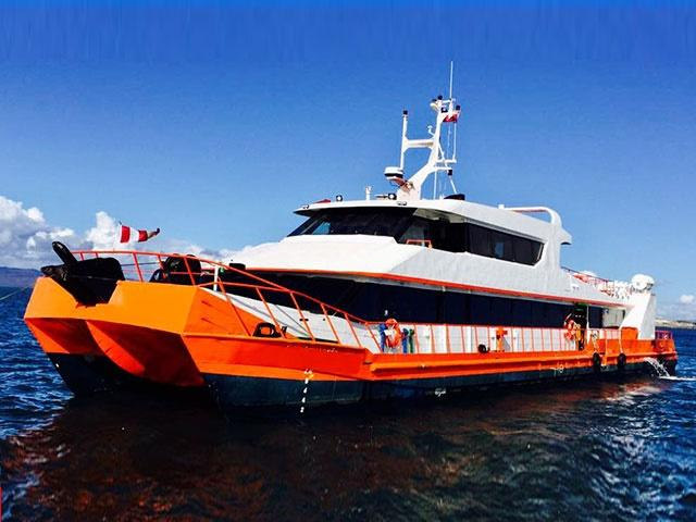 33m Catamaran Passenger Supply Ferry 1998 -150 PAX -Cargo Hold 50 CBM For Sale
