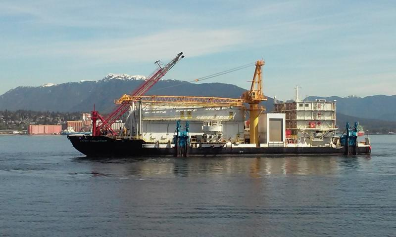 94m Containment Barge - Oil and Gas Processing FPSO