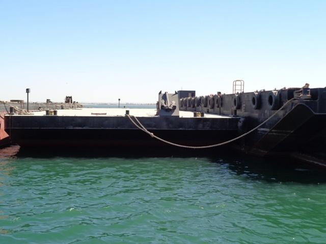 44m Flat Top Deck Barge 2007 - Clear Deck 600 SQM - DWT 1231 For Sale