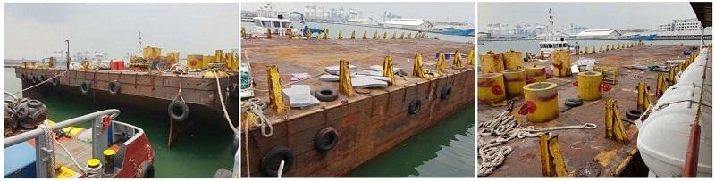 73m Ballastable Offshore Deck Cargo Barge 2007 - DWT 5300 For Sale