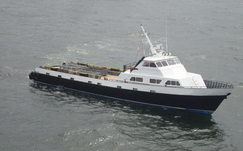 135' Breaux Bay Crew Supply Boat - 71 Passengers For Sale