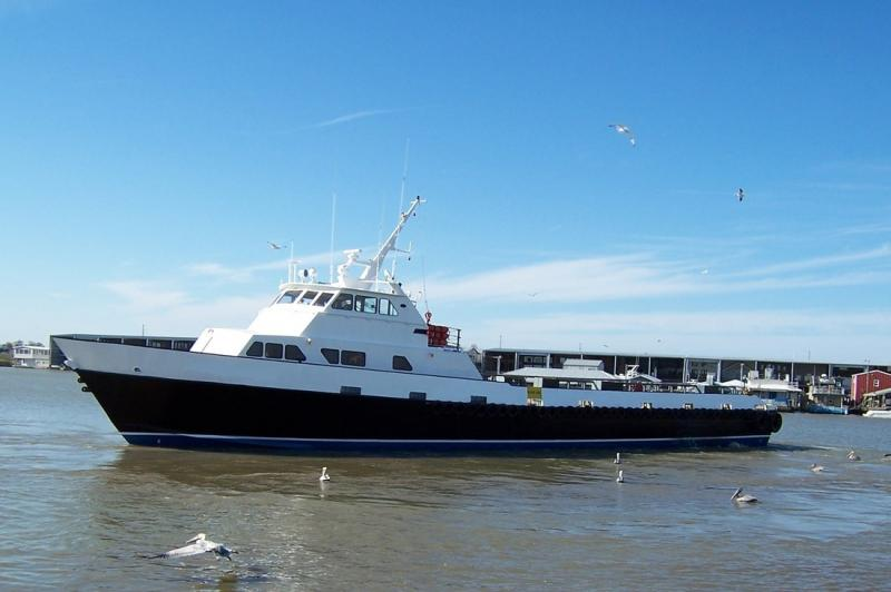 135' Breaux Bay Crew Supply Boat 1990 - 71 Passengers For Sale