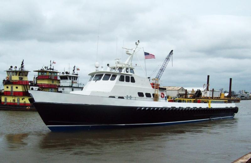 120' Gulf Craft Crew Supply Boat 1982 - 55 Passengers For Sale