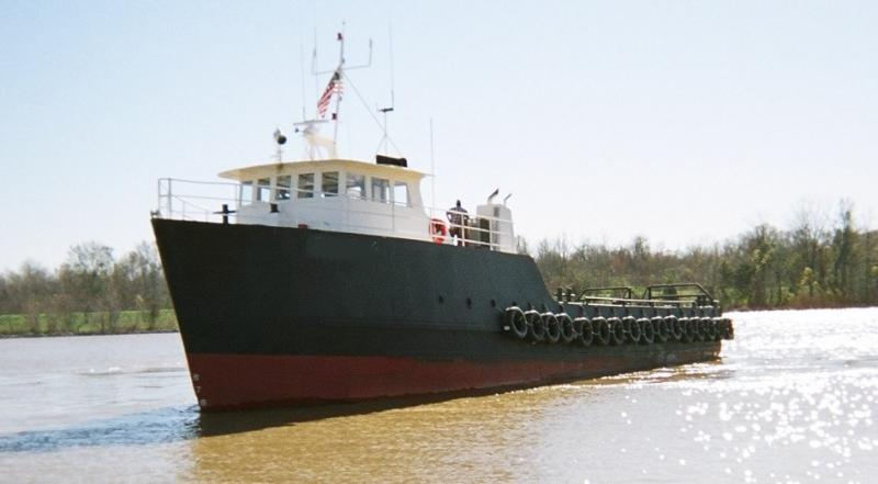 110' Graham Utility Boat 1982 - 32 Passenger For Sale