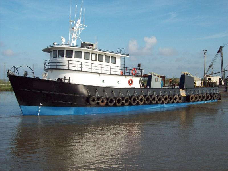 120' Covacevich Utility Supply Boat - 20 Passenger For Sale