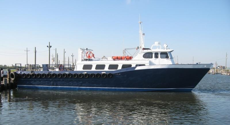 65' Breaux Bay Aluminum Crew Boat - 32 Passenger For Sale