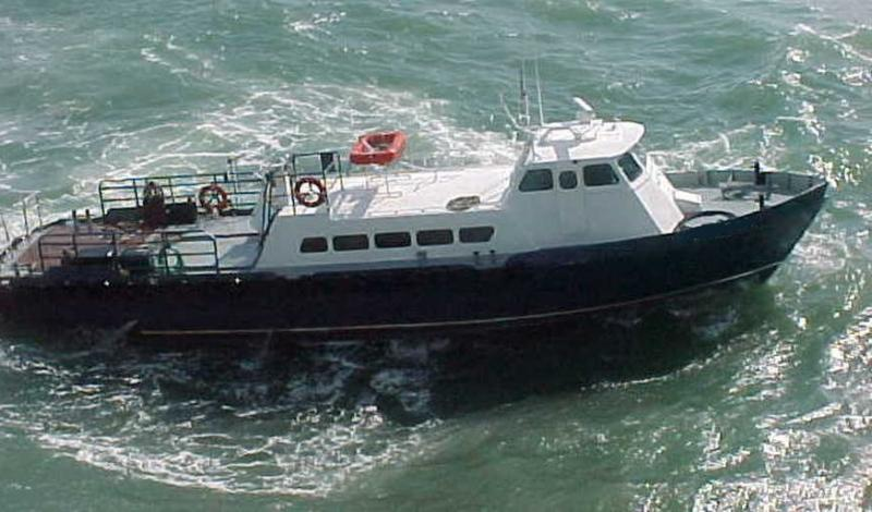 65' Stewart Crew Boat - 6 Passenger For Sale