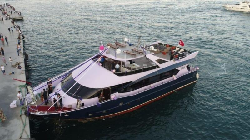 24m Dinner Cruiser Restaurant Boat 2018 - 80 PAX For Sale