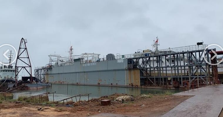 114m Floating Dock 2013 - 4500t - Rebuilt 2016 For Sale