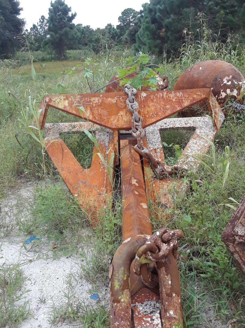 8,000 pound Delta Flipper Type Sand Anchors For Sale
