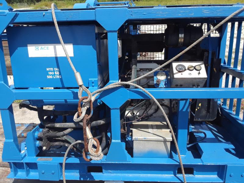 (2) ACE 86 Hp Hydraulic Power Units For Sale