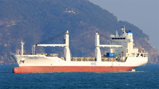 130 MPP Ship 2008 - Korea Built - 552 TEU - DWT 11817 For Sale