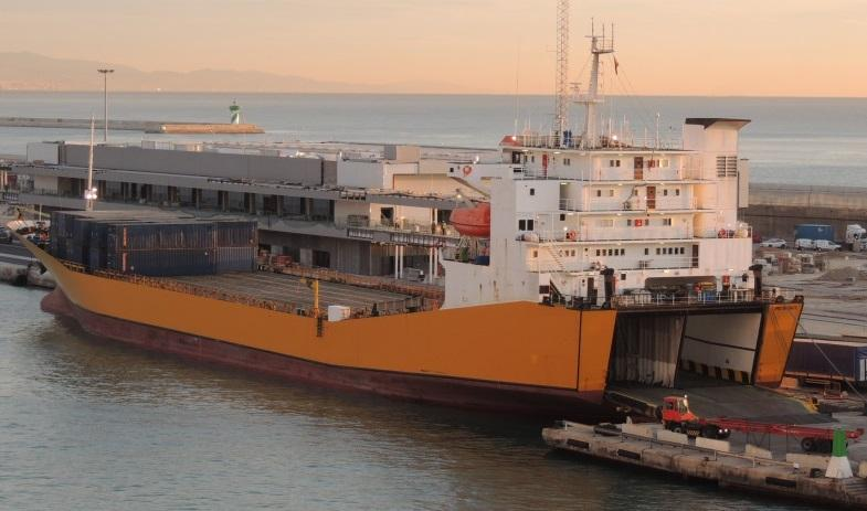 150m RORO Roll On Off Stern Door Ramp 7600 DWT - 1992 For Sale