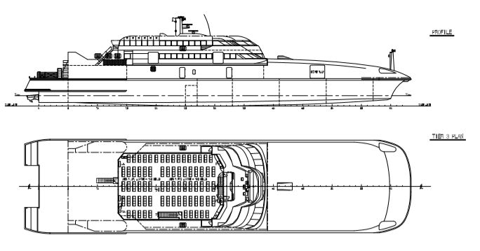 74m Incat 920 Passenger High Speed Ferry - 40 Knots For sale