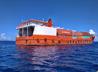 64m Double Bottom LC Landing Craft 2009 - DWT 1500 For Sale