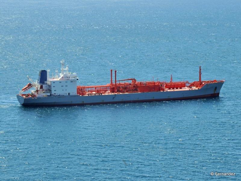 158m LPG Liquid Petroleum Gas Carrier 1989 - DWT 16137 For Sale