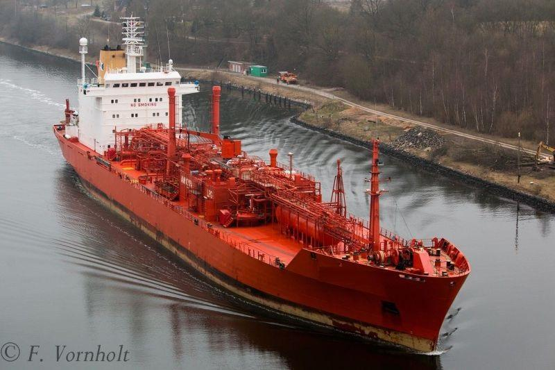 158m LPG Liquid Petroleum Gas Carrier 1991 - DWT 16259 For Sale