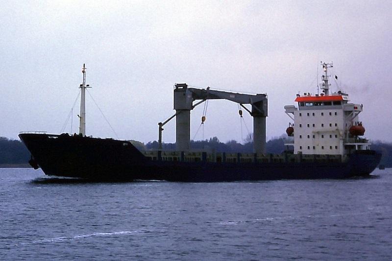 114m Geared 393 TEU Miniature General Cargo Bulker 1997 - DWT 8929 For Sale