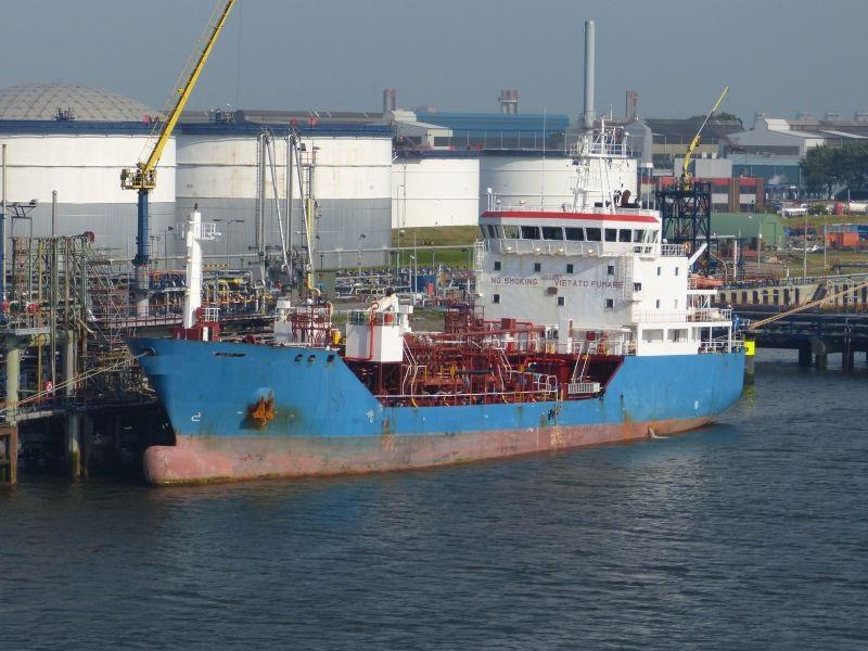 80m Double Hull Solid Stainless Steel Chemical Tanker 2002 - DWT 3200 For Sale