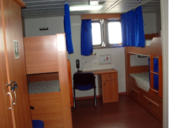 70m Self Proppelled 112 Person Accommodation Barge 2006 - DWT 914 For Sale
