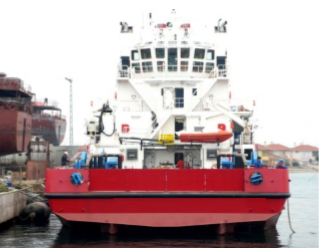 48m Geared MPSV Multi Purpose Supply Utility Vessel 2008 - DWT 756