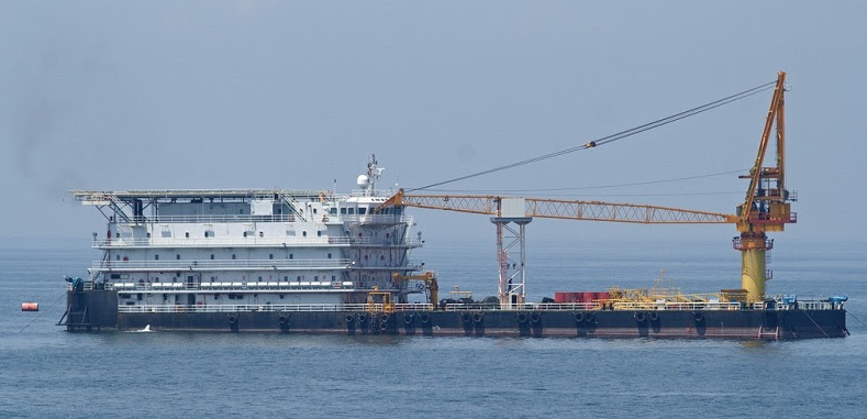 100m Geared 241 Person Accommodation Barge 2001 - DWT 7000 For Sale