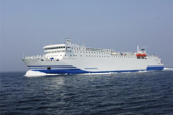 161m 1128 Passenger RORO Ship 2006 - DWT 6984 For Sale