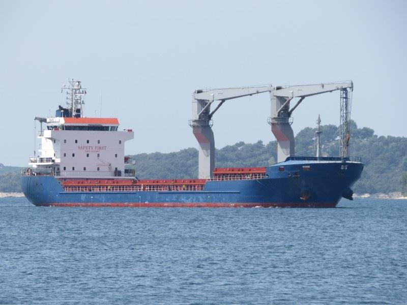 110m Geared 294 TEU general Cargo Ship 2010 - DWT 7608 For Sale