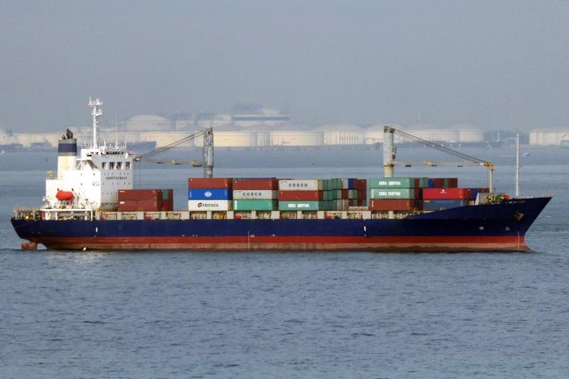 163m Geared 1177 TEU Feeder Container Ship 1997 - DWT 17704 For Sale