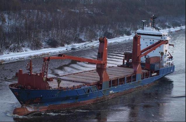119m Geared Ice Class Heavy Lift 599 TEU MPP Tween 2004 - DWT 7846 For Sale