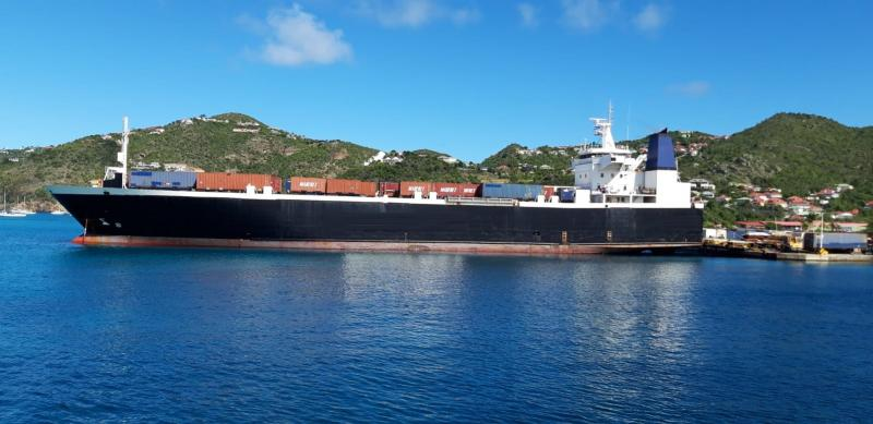 123m RORO Roll On Off Stern Ramp Cargo Carrier 1991 - DWT 5280 For Charter