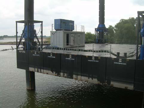 24m Jack Up Barge 2008 - Holland Built - Self Elevating - 250T Payload For Sale