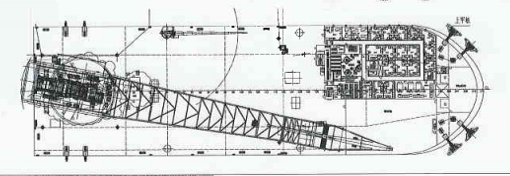 141m Ice Class Floating Crane Ship - Lift 3000 Tons