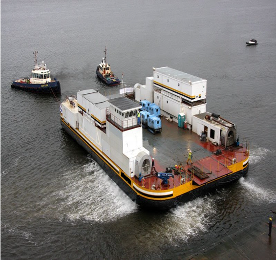 45m Heavy Equipment Arctic Hovercraft 2007 - DWT 200 For Sale