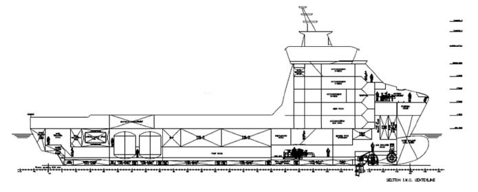 85m Fire Fighting PSV Platform Supply Vessel - DWT 4400 For Sale