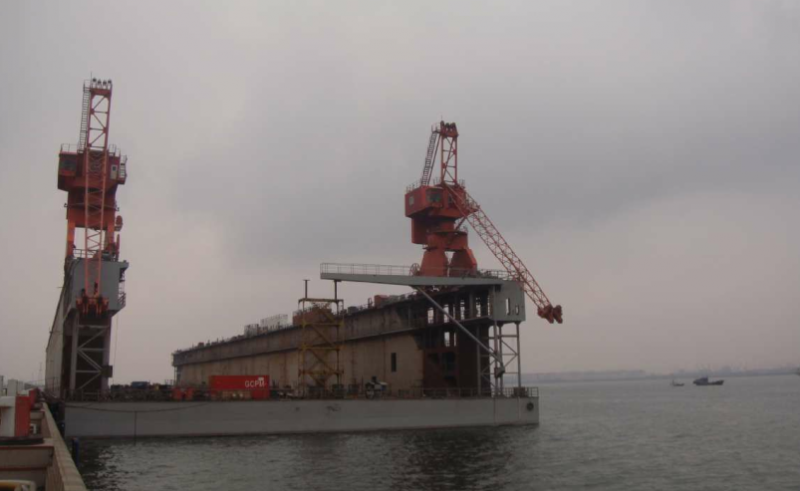 252m Geared Floating Dry Dock 2011 - DWT 28000 For Sale