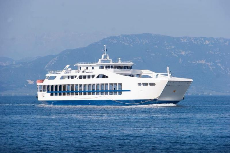 71m ROPAX Ferry 2018 - Fore and Aft Ramp Fitted - DWT 630 For Sale