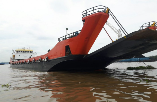 72m Bow Ramp LC Landing Craft 2010 - DWT 1700 For Sale